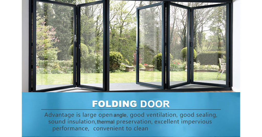 Malaysia safety commercial folding door | PRANCE