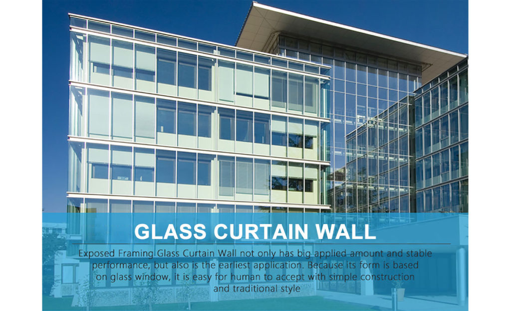 Curtain Wall Building Design : Glass curatin wall prance