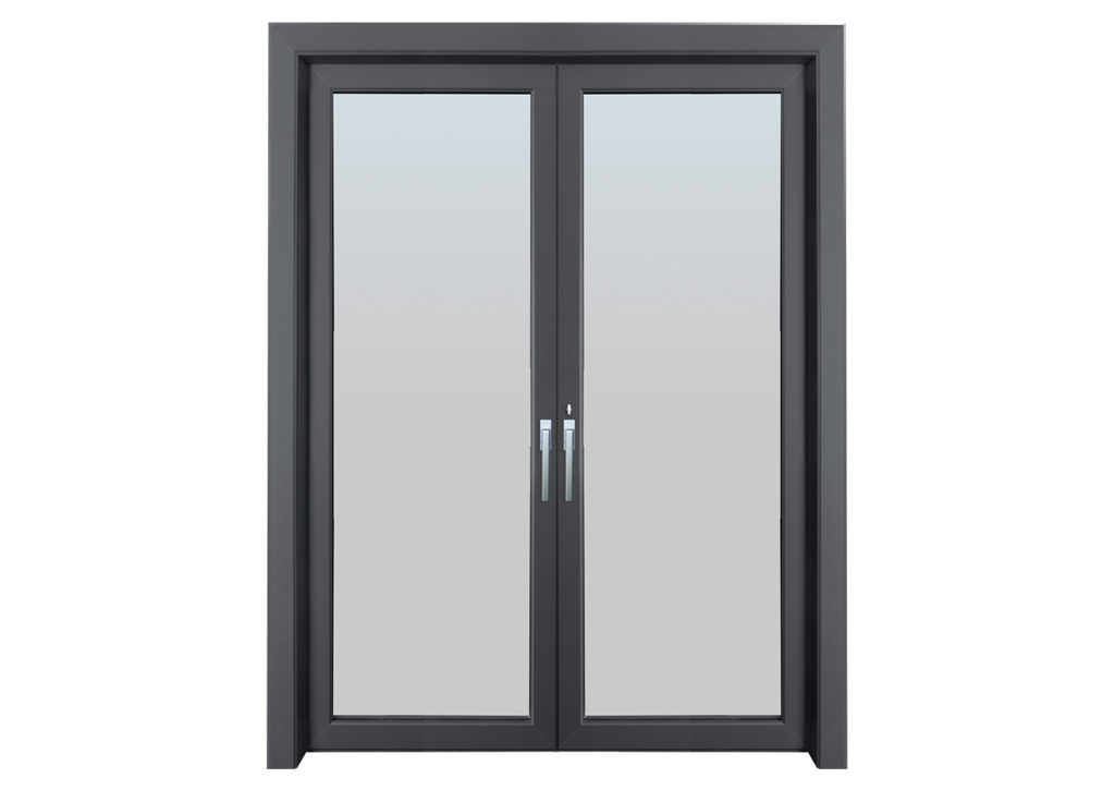 Office casement door aluminum